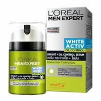 L'Oreal Paris Men Expert White Active Bright Oil Control Serum Moisturiser 50ml