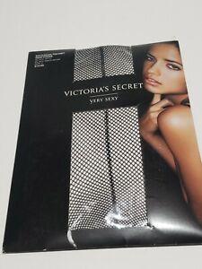 Victoria's Secret Very Sexy Fishnet Backseam Pantyhose size C