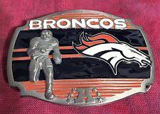 DENVER BRONCOS PLAYER BELT BUCKLE NFL BUCKLES NEW