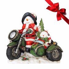 Schneemann Rider Dekofigur Weihnachtsdekoration Nikolausfiguren Dekoration