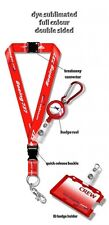 Norwegian Air B737 Dye Sublimation Lanyard Set