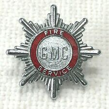 Greater Manchester County Fire Brigade cap badge