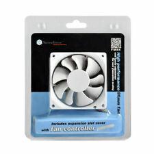 Silverstone SST-FM84 80mm x 25mm Fan Speed Control Sleeve Bearing White Blade