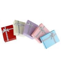 10 Mix Schmuck-Schachtel Geschenk-Verpackung Etui 9cm x7cm B31370