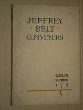 Catalogue Matériel Mine & Carriére JEFFREY BELT CONVEYERS Carrier TP  Machinery