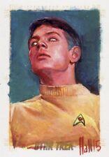 Star Trek ToS 50th Anniversary Rare Charles Hall / Gary Mitchell Sketch Card
