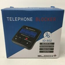 Call Blocker ID-802, Block Unwanted Nuisance Unsolicited Telephone Phone Calls