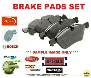 Front Axle BRAKE PADS SET for IVECO DAILY Box Estate 2287cc 126bhp 2007-2011