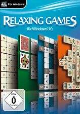 Relaxing Games for Windows 10 pc NEW + OVP