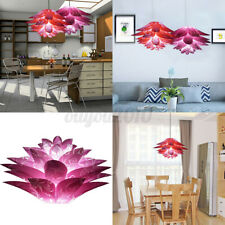 Plug In Hanging Ceiling Pendant Light Flower Lamp Shade For Chandelier Lampshade