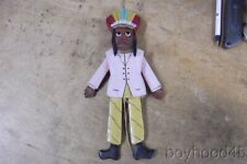 Vintage Hand Made Native American Indian Jumping Jack Pull Toy Doll