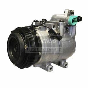 DENSO 471-6000 Compressor w/ Clutch For 00-04 Kia Sephia Spectra