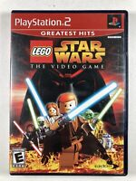 LEGO Star Wars: The Video Game No Manual (Sony PlayStation 2, PS2)