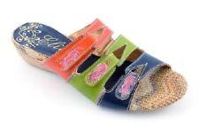 Leather Slides Casual 10 Sandals & Flip Flops for Women