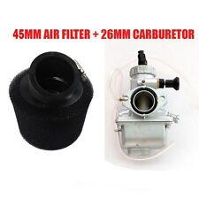 Molkt Carby 26mm Carburetor Air Filter f110cc 125cc 140cc Lifan YX Pit Dirt Bike