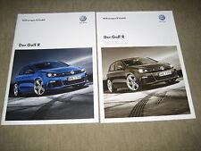 VW Golf R VI Prospekt Brochure von 5/2010, 24 Seiten + Preisliste