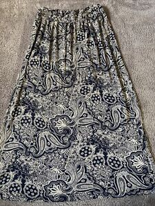 Womens Long Skirt By Fat Face Size S (approx8-10) Hardly Worn