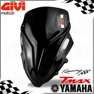 CUPOLINO SPORTIVO RACING NERO GIVI YAMAHA TMAX T-MAX T MAX 500 2008 - 2012