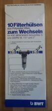 """10 Stück BWT Filtervlies für Wasserfilter GS 1 1/2""""-2"""", Filterhülsen 10998,"""