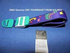 1 X CBC PREMIUM TOURNIQUET CLASSIC LATEX FREE DINO DESIGN