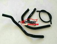 BLACK FOR Yamaha Banshee YFZ350 YFZ 350 LE/SE 1987-2007 Silicone Radiator Hose