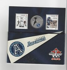 **2012**Canadian Football League Coin & Stamp Uncirculated Set, TO Argonauts
