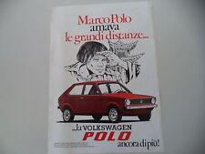 advertising Pubblicità 1976 VOLKSWAGEN POLO