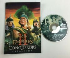 AGE OF EMPIRES 2 Expansion THE CONQUERORS Microsoft PC Game Big Box