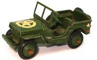 DINKY PRE-WAR NO. 153A U.S. ARMY JEEP - RARE - L2