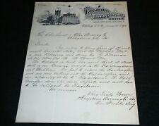 1880's Keystone Brewing Company, Pittsburg Penna. Pittsburgh Vintage Letterhead