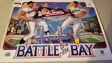 Full Color Poster of 1989 Earthquake World Series-A's vs. Giants