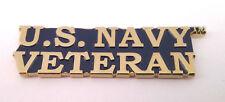*** US NAVY VETERAN *** Military Veteran Hat Pin  P62782 EE