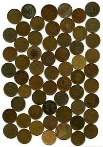 China 60 Münzen, 10 und 20 Cash, div. Provinzen     # 149