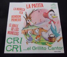 """CRI CRI LA PATITA MEXICAN 7"""" EP PS CHILDREN"""