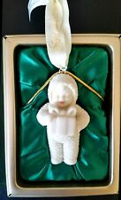 Dept. 56 Snowbabies Ornament A Gift For You Retired 2001 New 68909