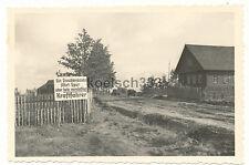 Foto Kaskowo Russland Kraftfahrer Schild ! Wehrmacht LKW Fahrer 1. Armeekorps !