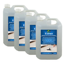 Carpet Shampoo Upholstery Cleaning Solution Removes Pet Odour HYDRA EXTRACT 4X5L