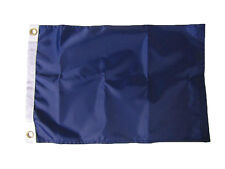 """12x18 Embroidered Sewn Boating Absent Nylon Nautical Boat Marine Flag 12""""x18"""""""