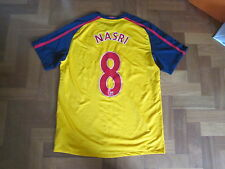 Arsenal Away Shirt  2008/09 Nike - Fly Emirates - Adult Large - #8 Samir Nasri