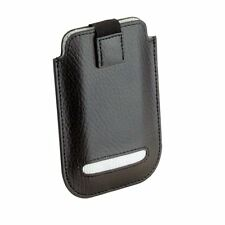Dulwich Designs Black Leather iPhone 4 & 4S Case White Lining 70847