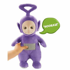 Teletubbies Talking Tinky Winky Plush Soft Toy - Purple