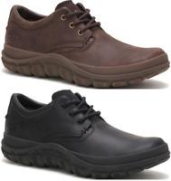 CATERPILLAR Fused Tri en Cuir Sneakers Décontracté Baskets Chaussures Hommes