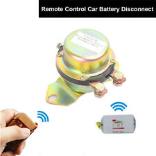 12V Car SUV Battery Switch Electromagnetic Disconnect Master Kill Remote Control