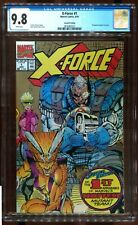 X-FORCE 1 GOLD EDITION SECOND PRINT CGC 9.8 ROB LIEFELD CABLE MARVEL
