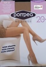6 CALZE COLLANT POMPEA TOP 20 DEN BASIC NO STRESS SETIFICATO OPACO
