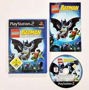 SONY PlayStation 2 LEGO BATMAN - DAS VIDEOSPIEL dt. Action Adventure/Superhelden