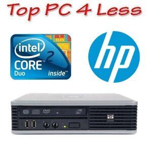 HP dc7900 Ultra Slim Desktop Core 2 Core E8400 2G 80G DVD Windows XP Pro