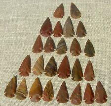 """2"""" inch bulk arrowheads 25 mixed reproduction arrow heads bird spear points bu45"""