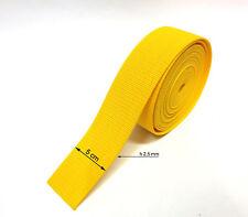 Cinghia Nylon Fettuccia Nastro Multi-purpose Nylon Webbing yellow  5m X h 5,0cm