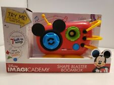 NEW Disney Imagicademy Shape Blaster Boombox